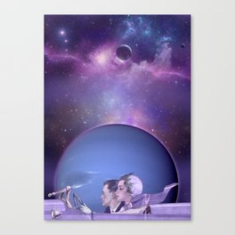 Trip to Neptune Canvas Print
