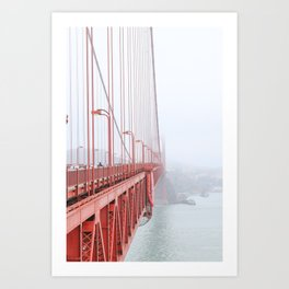 Golden Gate Bridge in San Francisco Art Print