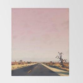 southwestern desert photo Throw Blanket