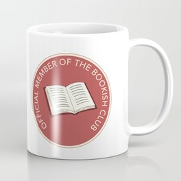 Official Member of the Bookish Club Coffee Mug