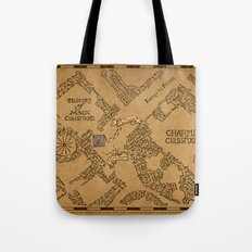 Evening Visit Tote Bag