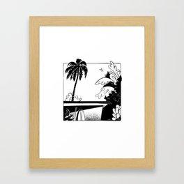 Welcome to LA Framed Art Print