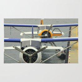 Vancouver Harbor Seaplanes Rug