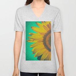 Sunflower vintage Unisex V-Neck