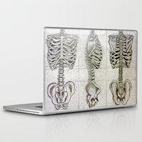 bones Laptop & iPad Skins featuring Bones by Kristen Willsher