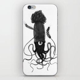Beer Squid iPhone Skin