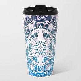 Purple Mandala Travel Mug