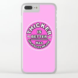 THICC Clear iPhone Case