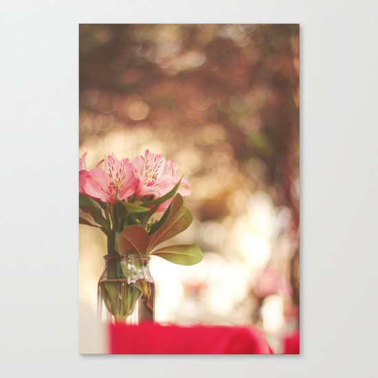 Under a bokeh sky Canvas Print
