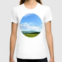 scotland T-shirts featuring Highlands Scotland by seb mcnulty