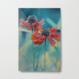 Bright Echinacea Metal Print