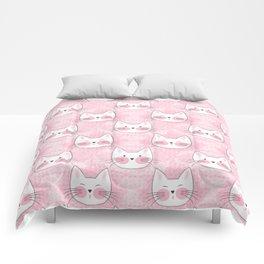 Little Girls Birthday Kitty Cats Comforters