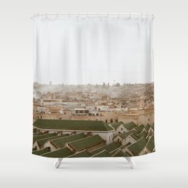 Fez at Dusk Shower Curtain