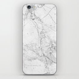 Nordic White Marble iPhone Skin