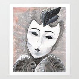 Masquerade Art Print
