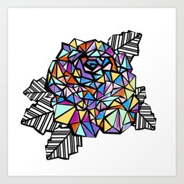 origami n2 Art Print
