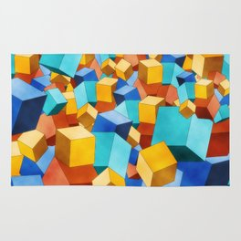 Cubism Rug