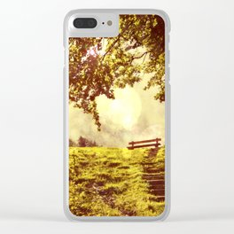 slow down Clear iPhone Case