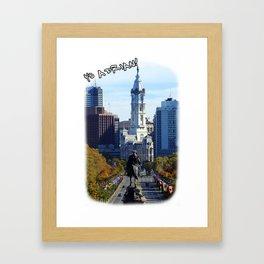 Yo Adrian!! Framed Art Print