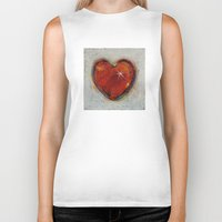 passion Biker Tanks featuring Passion by Michael Creese
