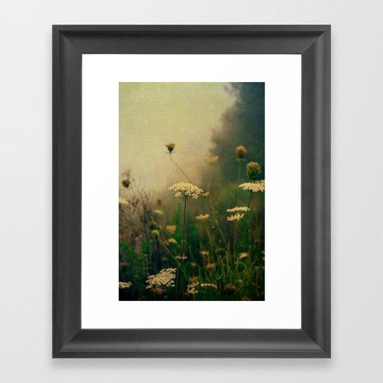 Ethereal Fog Framed Art Print