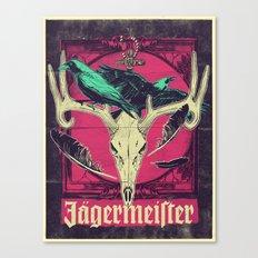 Meister of jägers Canvas Print