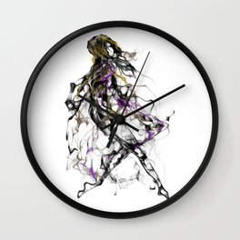 coolsketch 112 Dancer Wall Clock
