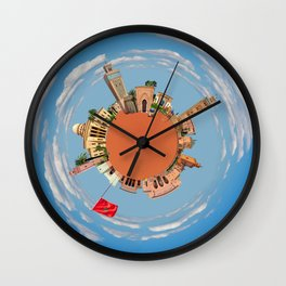 marrakech little planet Wall Clock