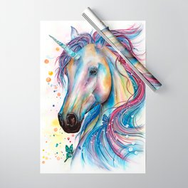 Whimsical Unicorn Wrapping Paper