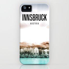 Innsbruck Wallpaper iPhone Case