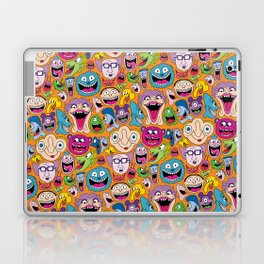 Creepy Smiles Pattern Laptop & iPad Skin