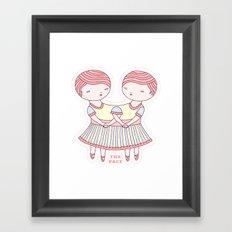 The Pact Framed Art Print