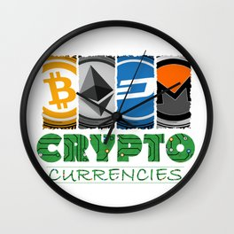 Crypto Market Wall Clock