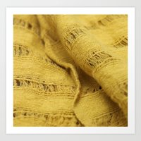 Yellow Zing  Art Print