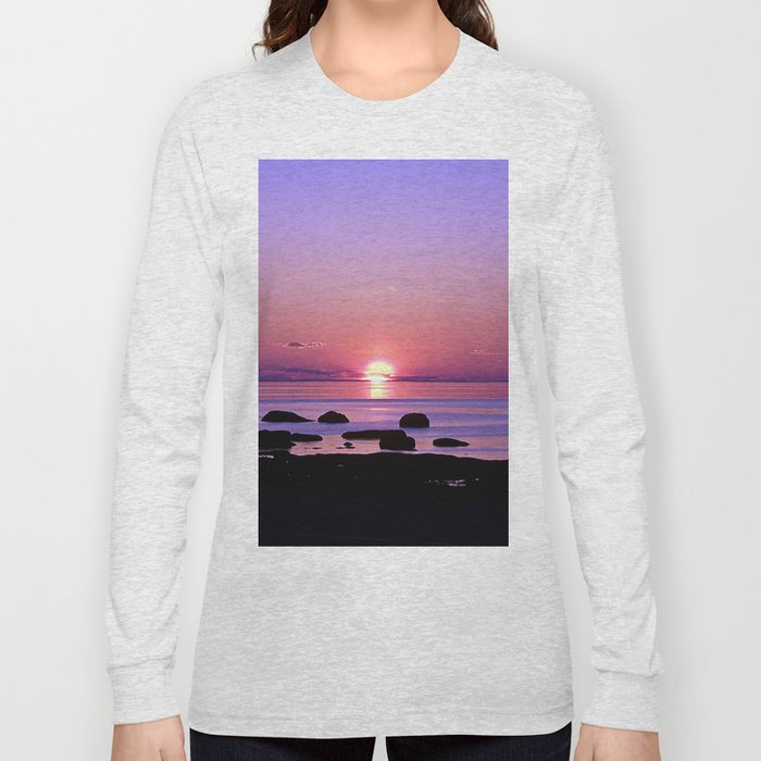 Beauty on the Saint-Lawrence Long Sleeve T-shirt