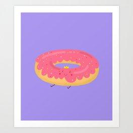 donut princess Art Print