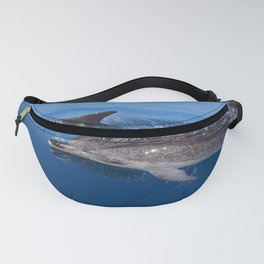 Mother and baby spotted dolphin Fanny Pack