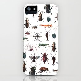 Color Insects Pattern iPhone Case