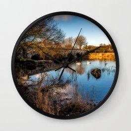 Pont Pen y Llyn Bridge Wall Clock