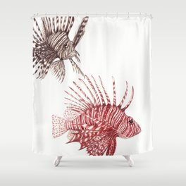 Elsewhere by Lars Furtwaengler | Colored Pencil | 2012 Shower Curtain