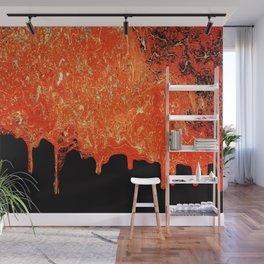 Lava Wall Mural