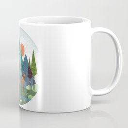 Deer and son Coffee Mug