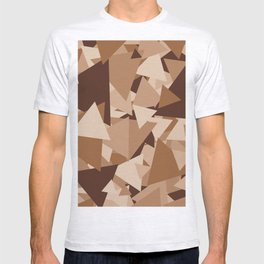 Points of Brown T-shirt