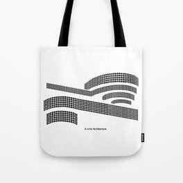 Frank - A is for Architecture Tote Bag