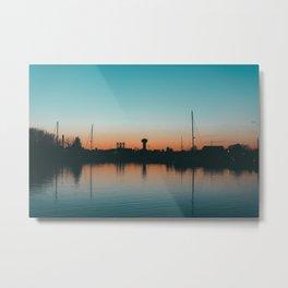 Sunset Calm Metal Print