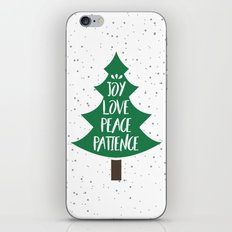 Tree of Christmas Present iPhone & iPod Skin