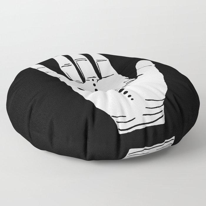 Hamsa Horus Floor Pillow