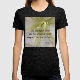 Ideas & Ideals T-shirt