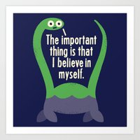 smile Art Prints featuring Myth Understood by David Olenick
