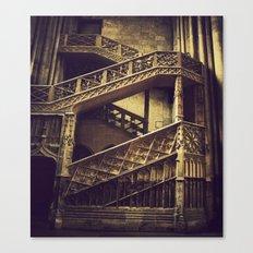 A Hogwarts Staircase Canvas Print